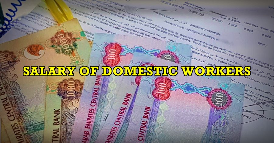 salary of domestic workers uae