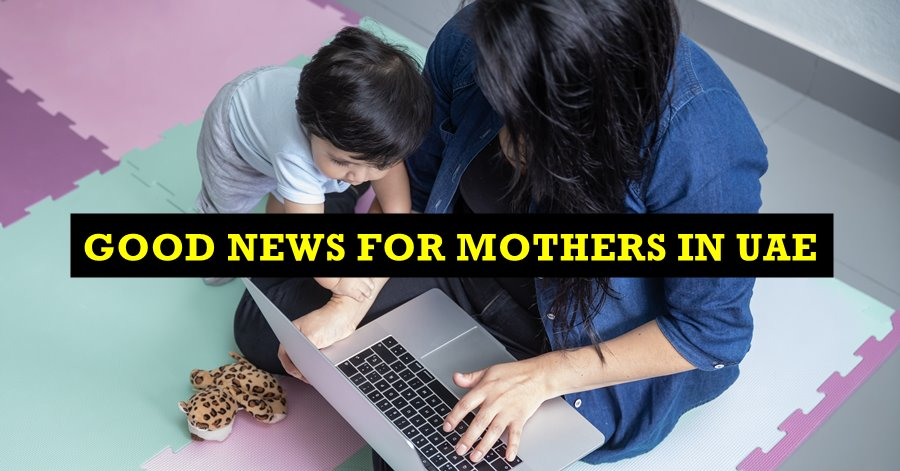 mothers in uae can work from home