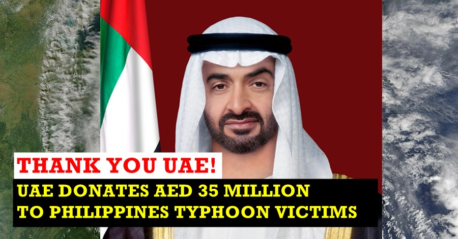 uae aid to typhoon rolly philippines